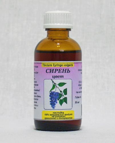 Настойка из цветков белой сирени на водке: применение
